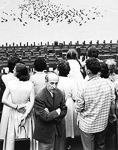 """В ожидании процессии"", Венеция, 1955 год"