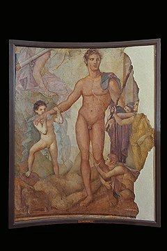 Тезей-Освободитель. Августеум, 65–79 годы. Фреска