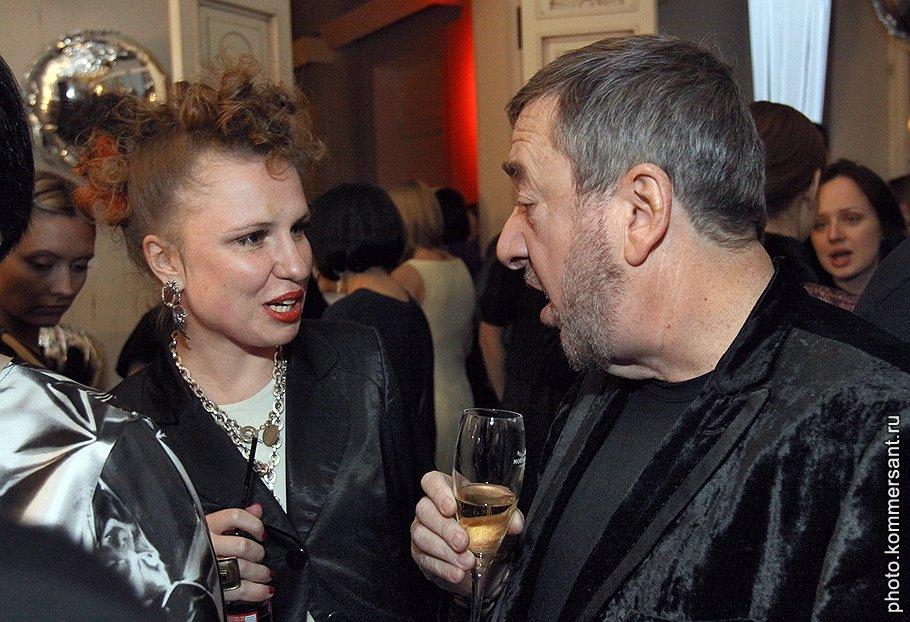 Режиссеры Валерия Гай Германика и Павел Лунгин на вечеринке в честь запуска в России журнала Interview
