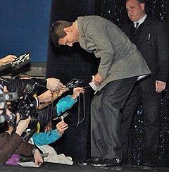 """Актер Том Круз на премьере фильма """"Миссия невыполнима: Протокол Фантом"""" в кинотеатре """"Пушкинский"""""""