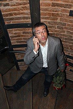"Владелец компании Simple Максим Каширин на 15-летии ресторана ""Бочка"""