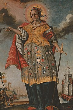 """Святая Варвара"", XVIII век"