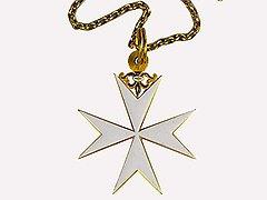 Крест великого магистра Ла Валлетта, XVI век. Музеи Московского Кремля