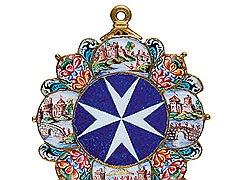 Знак Мальтийского ордена, XVI век. Национальный музей Почетного легиона и иных рыцарских орденов, Париж