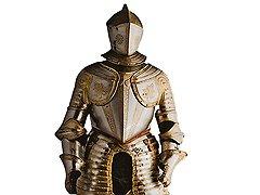 Доспехи, приписываемые великому командору Жан-Жаку де Верделену. Италия, XVI век. Оружейная палата великих магистров, Мальта, Валлетта