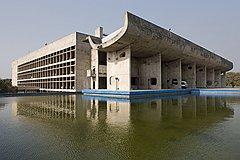 Здание Ассамблеи, Чандигарх, Индия, 1951-1962 годы