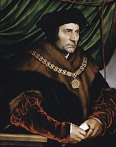 """Ганс Гольбейн Младший. """"Портрет Томаса Мора"""", 1527 год"""