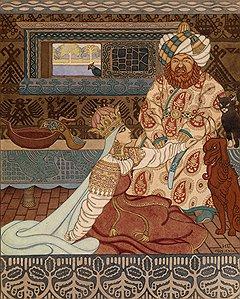 Иван Билибин. «Невеста хана», начало 1920-х годов. MacDougall's, эстимейт £80–120 тыс.
