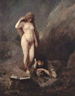 Виктор Штембер, «Искушение Святого Иеронима», 1894, Bonhams, £150-200 тыс.