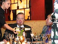 Сенатор Вадим Тюльпанов на открытии Buddha Bar в Петербурге