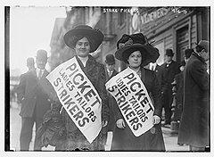 Забастовка работниц швейной промышленности, 1910 год