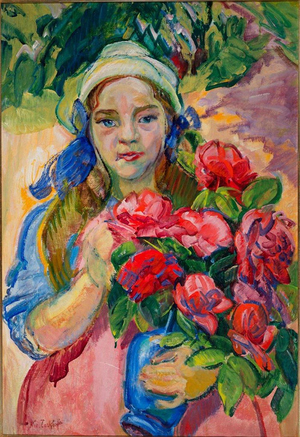 Николай Тархов. «Портрет дочери», 1910-е годы