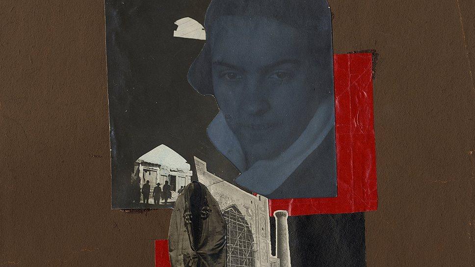 """Наталья Киселева. """"Автопортрет с эффектом двойной экспозиции"""", конец 1920-х годов"""