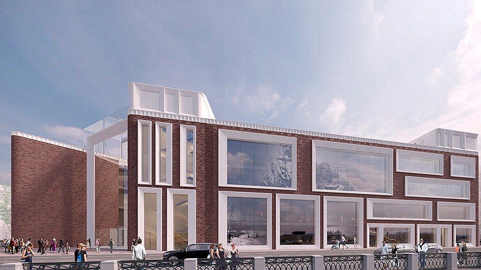 Концепция фасадов нового музейного комплекса Государственной Третьяковской галереи, разработанная архитектурной мастерской Speech