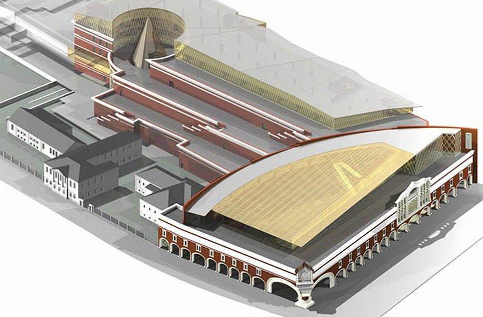 Предпроектное предложение второй очереди Государственной Третьяковской галереи, ГУП МНИИП «Моспроект-4»