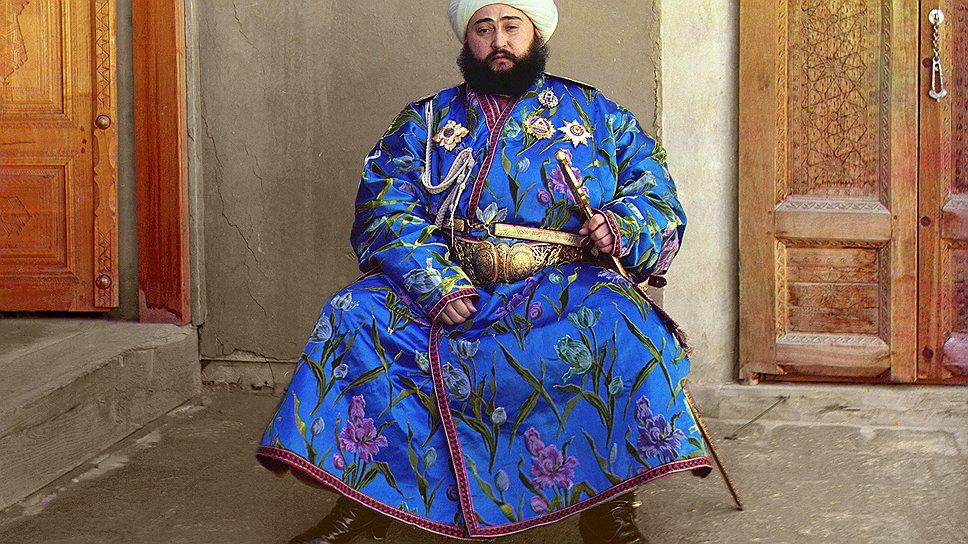 Эмир Бухарский. Бухара, 1911год