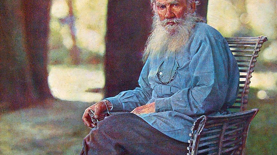 Л.Н.Толстой, 1908год