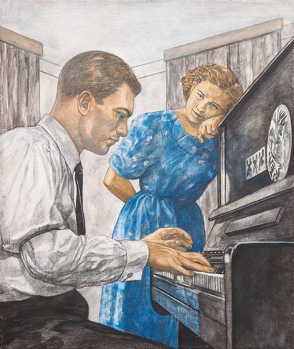 Георгий Гурьянов. «Пианист», 1996–2003 годы. Эстимейт 1–2 млн руб.
