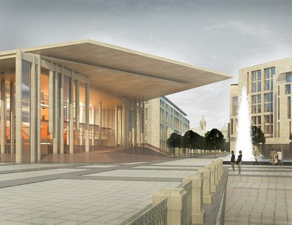 Проект Архитектурного бюро «Земцов, Кондиайн и партнеры»