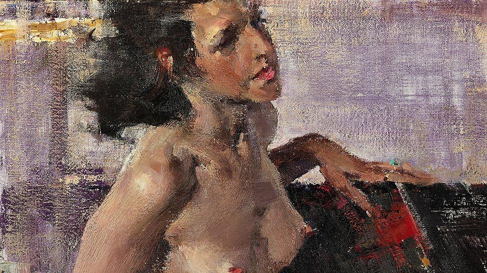 """Николай Фешин. """"Обнаженная"""", 1920-е годы. Sotheby's, эстимейт £500-700 тыс."""