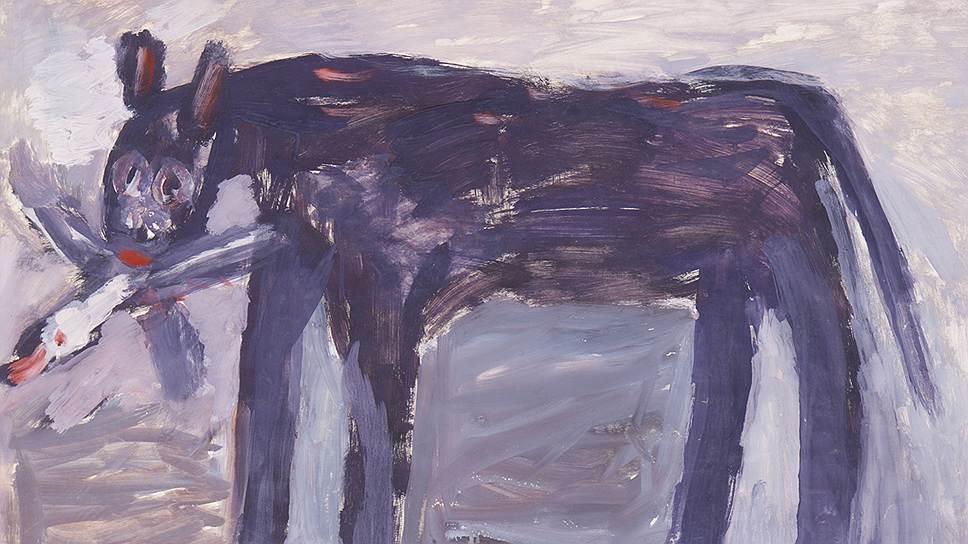 """""""Кошка с птицей"""", 1973 год"""
