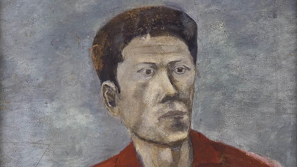 """""""Портрет Геннадия Айги"""", 1966 год"""