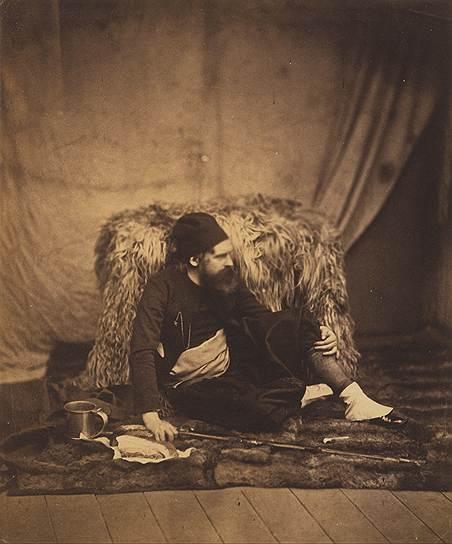 """Роджер Фентон в униформе зуава"", 1855год"