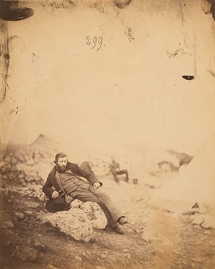 """""""Мистер Симпсон, художник"""", 1855 год"""