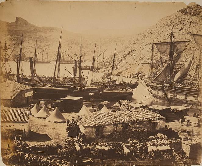 """""""Казачья бухта, Балаклава"""", 1855год"""