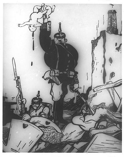 Агитационный плакат времен Первой мировой войны