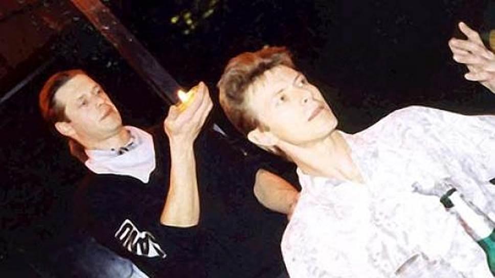 Борис Гребенщиков и Дэвид Боуи. Нью-Йорк, 1989 год