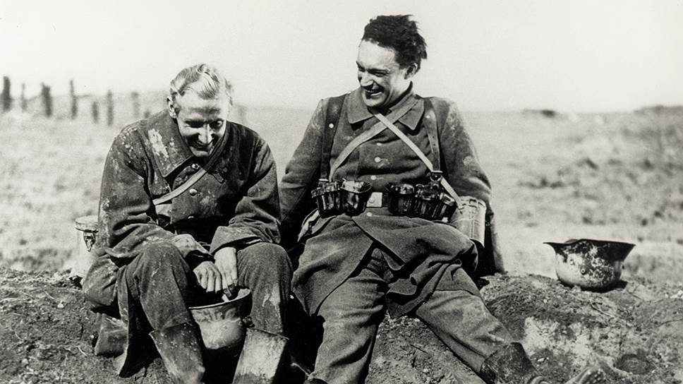 «Западный фронт, 1918». Режиссер Георг Пабст, 1930 год