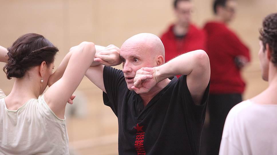 Хореограф Жан-Кристоф Майо с балериной Марией Александровой на репетиции балета «Укрощение строптивой» в Большом театре
