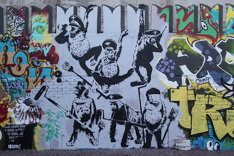 Дмитрий Булныгин. «Последняя стена», 2014 год (для выставки «Casus Pacis»)