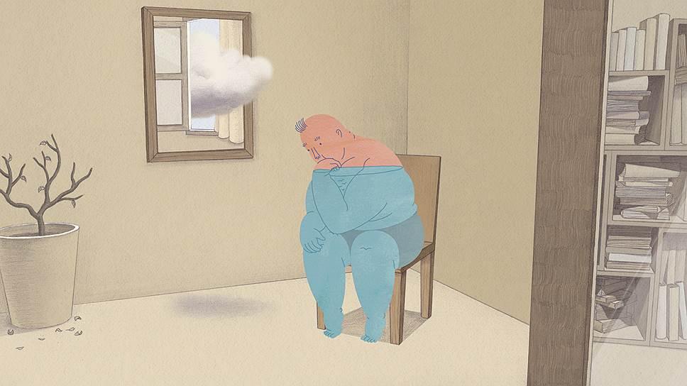 Даи Дженг. «Человек на стуле», 2014 год