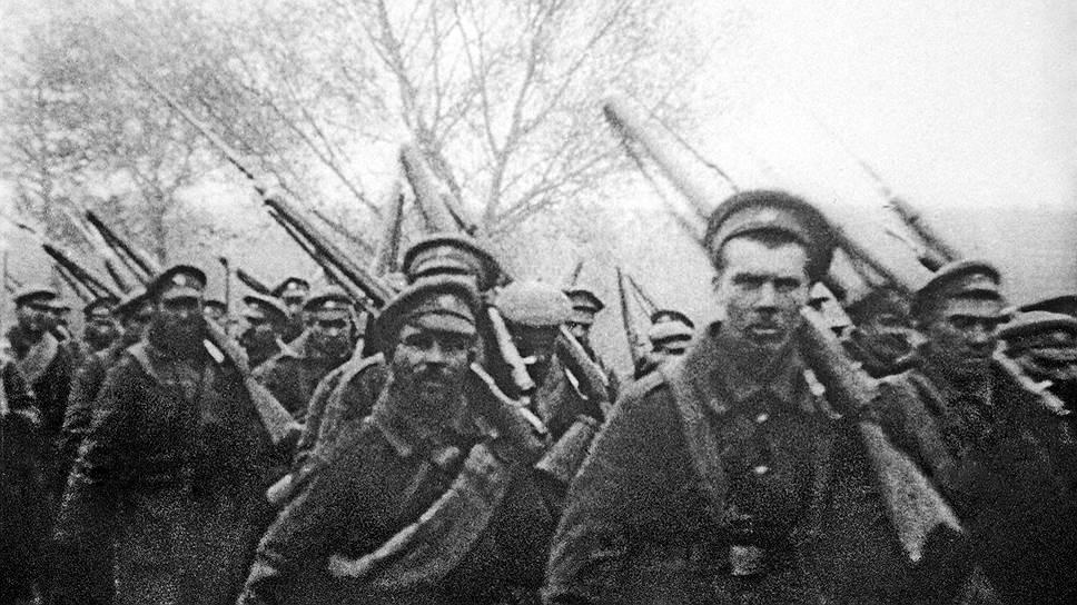 Отправка солдат на фронт, 24 октября 1914 года