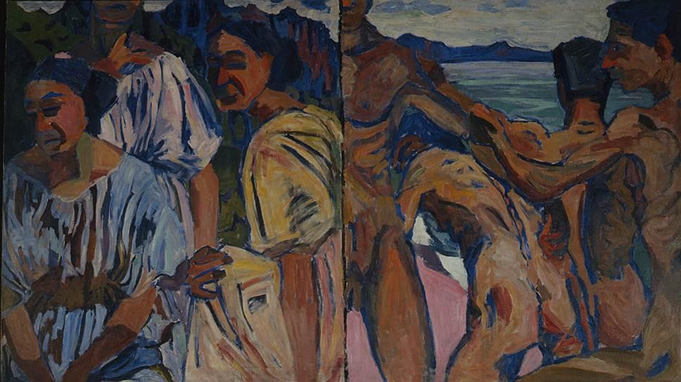 """""""Мужчины и женщины"""", диптих, 1910 год. Собрание Наталии Курниковой"""