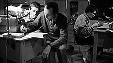 """Авторы сценария и ведущие программы """"Взгляд"""" (слева направо): Александр Любимов, Дмитрий Захаров и Владислав Листьев"""