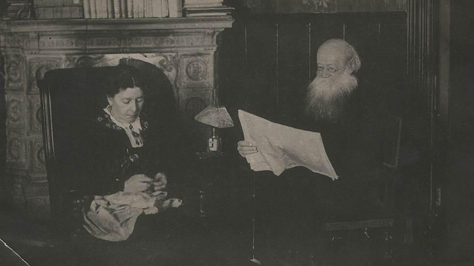 Петр Кропоткин и его жена Софья Григорьевна Рабинович