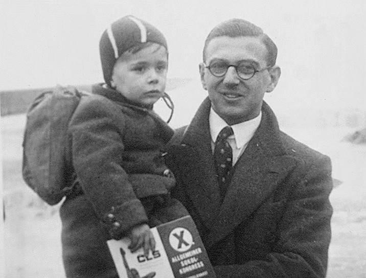 Николас Уинтон и ребенок-беженец, 1939 год