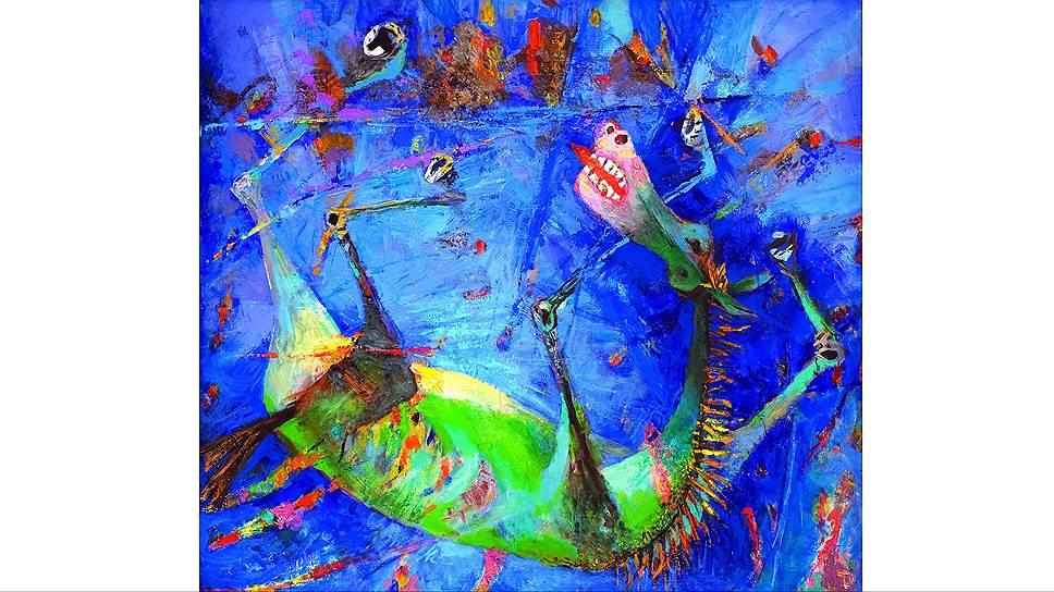 «Голубая лошадь», 2003 год