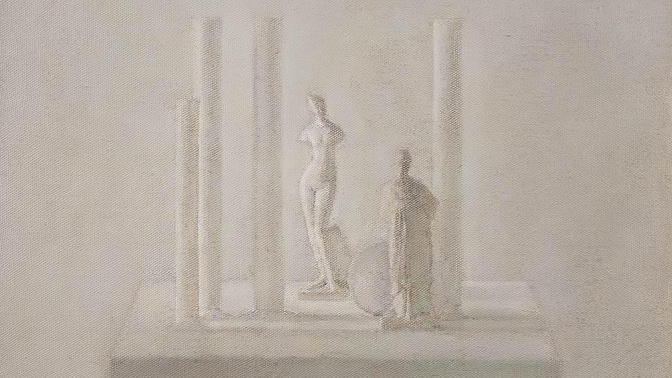«Четыре колонны с Венерой и танагрой», 1982 год