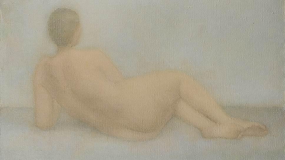 «Лежащая обнаженная», 1973 год