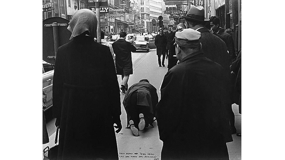 Петер Вайбель, Вали Экспорт. «Из собачьего портфолио», 1968 год