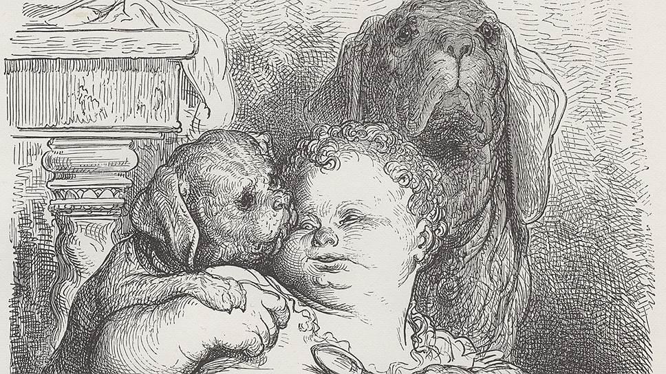 «Гаргантюа и Пантагрюэль. Книга 1, глава 11». Иллюстрация Гюстава Доре, 1873 год