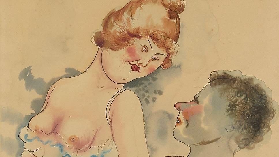 «Крошка Цахес». Иллюстрация Георга Гросса, 1922 год