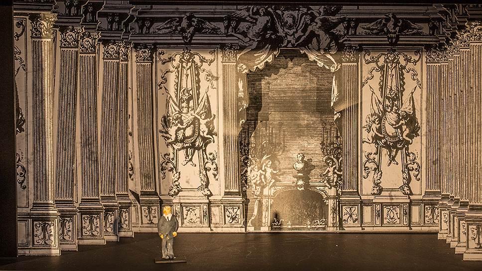 Макет декораций к балету «Гамлет»