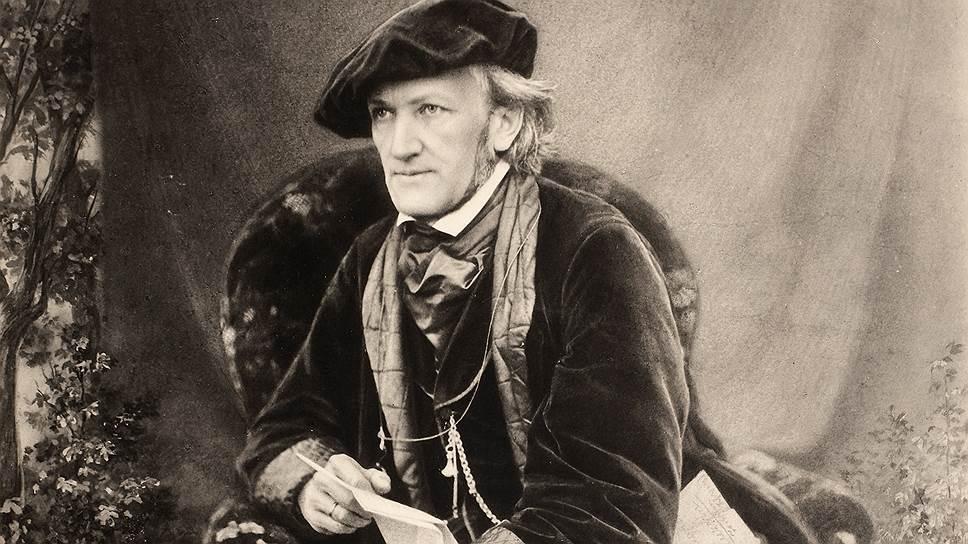 Рихард Вагнер. Трибшен, около 1868 года