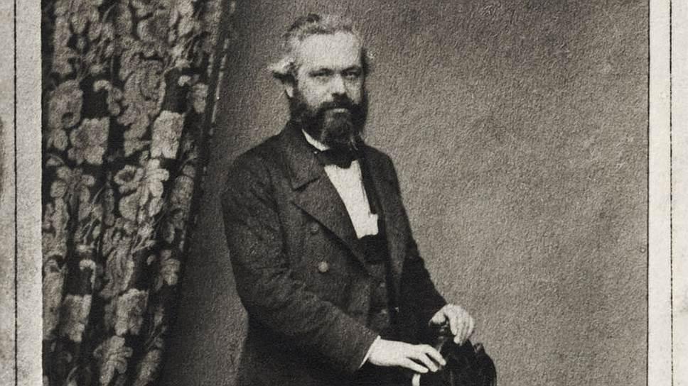 Карл Маркс. Лондон, 1 января 1860 года