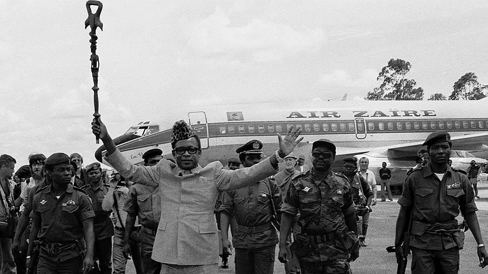 Мобуту Сесе Секо, 23 апреля 1977 года